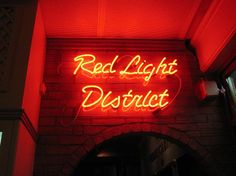 Red Light District. Amsterdam.