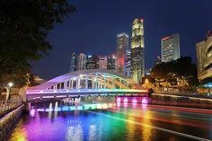 Elgin Bridge, Boat Quay, Singapore Art Print by Rick Deacon. All prints are professionally printed, packaged, and shipped within 3 - 4 business days. Bridge Wallpaper, Singapore Art, Thing 1, Sydney Harbour Bridge, Fine Art America, Fine Art Prints, Boat, Wall Art, World