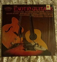 1968 The Exotic Guitars. Cellophane wrapped. by MelsVintageVariety