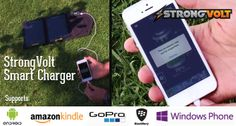 StrongVolt Solar Portable Solar Charger
