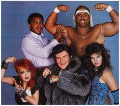 Muhammad Ali, Hulk Hogan, Cyndi Lauper, Liberace And Wendi Richter