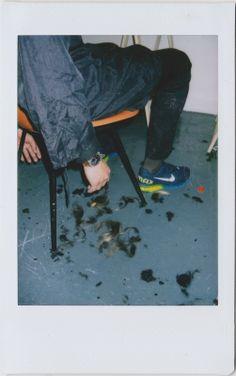 Polaroid obsessions: Walter Van Beirendonck