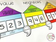 Learn engaging ways to teach place value to your upper elementary students and grab a freebie! value Engaging Ways to Teach Place Value to Upper Elementary Teaching Place Values, Teaching Math, Teaching Ideas, Elementary Math, Upper Elementary, Math Resources, Math Activities, Place Value Activities, Math Strategies