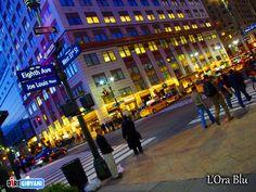 The Blue Hour - New York, Usa