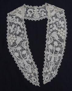Interesting Irish Crochet collar from the 6/7/2015 Ebay Alerts.