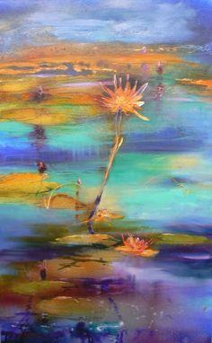 Symphony Of Colour AcrylicOil - Diana Jackson