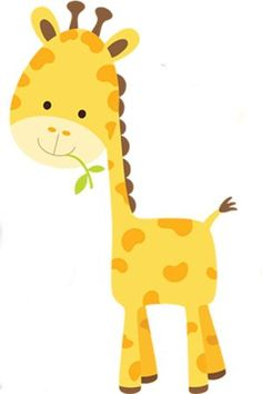 Giraffe Copy Send Share Send in a message, share on a timeline or copy and paste in your comments. Giraffe Drawing, Giraffe Art, Jungle Theme Birthday, Safari Theme, Jungle Animals, Baby Animals, Baby Wall Decor, Kids Room Paint, Cute Cartoon Drawings