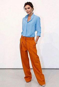 2d5d23470b71e cómo combinar los colores de la primavera con naranja Ropa De Moda