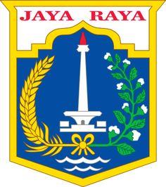 Jakarta, Capital of Indonesia, Population: 10187595 Jakarta, Government Logo, Bts Laptop Wallpaper, City Logo, Unity In Diversity, 2 Logo, Happy Anniversary, Coat Of Arms, Islam