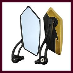 EE support New Universal Motorcycle accessories Rhombic Side Mirror motorcycle Rearview mirror cafe racer espejo moto