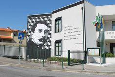 #RenatoRibeiro  #StreetArt  #Portugal  #Nespereira  #guimarães  #guimaraes #spray #streetartportugal #streetartguimaraes #tentAção #raulbrandao #raulbrandão