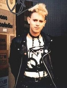 Bondage and BDSM gear, fishnet and leather, lingerie of all sorts: this was the aesthetic of Depeche Mode's Martin Gore in the It was, at most times, very feminine with a strand of p…