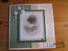 Aloin tekemään joulukortteja mutta tämä taitaa ennemminkin olla ystävänpäiväkortiksi sopiva.