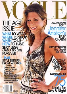 Vogue August 2002  Jennifer Aniston