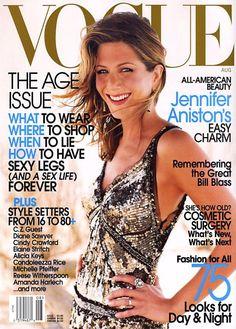 Vogue August 2002 Jennifer Aniston