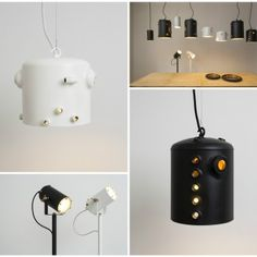 Upcycled Boiler Lamps by Willem Heeffer