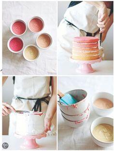 Trendy taarten! Linda Lomelino #Pretty #Cakes #Baking