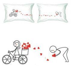 Almohadas para San Valentín, regalos originales