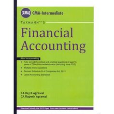 Financial Accounting by RAJ K AGRAWAL & RUPESH AGRAWAL Edition : 2015