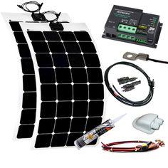 200W flexible Solaranlage für Wohnmobile und Camper Alkoven Set, 689,00 €