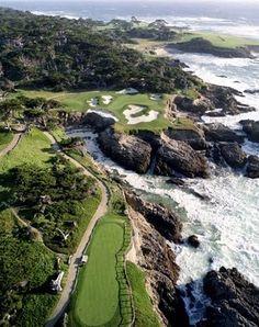 Carmel-by-the-Sea~ Pebble Beach Golf Course