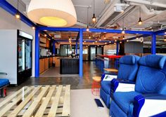 PDM International has designed a new office space for Blueprint, a tech-focused coworking office located in Hong Kong. As a tech-focused co-working Corporate Office Design, Corporate Interiors, Workplace Design, Hong Kong, Co Working, Offices, Interior Design, Colour Pop, Commercial