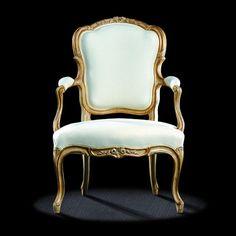Louis XV classic style armchair L15TF22 MASSANT