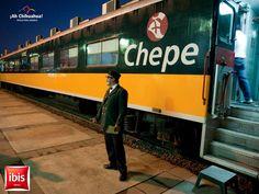 Desde 1961 el tren Chepe como se le conoce, inicio sus recorridos turísticos por la majestuosa Sierra Tarahumara, conociendo el Cañón del Cobre que es más grande que el Cañón del Colorado en Estados Unidos. El recorrido de este tren es uno de los más espectaculares por los paisajes naturales. Muy cerca de la Estación turística en la ciudad de Chihuahua, se ubica nuestro HOTEL IBIS CHIHUAHUA, donde les ofrecemos modernas y acogedoras habitaciones con todos los servicios. Informes en…