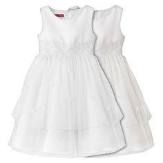 Princess Faith Floral Embroidered Dress - Girls 7-16