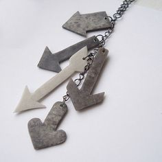 Arrow necklace.