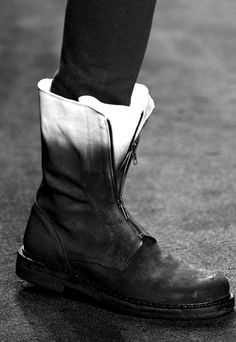two-tone boots