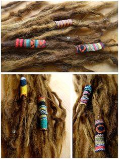 Soft Dreadlocks Beads / Dreadlocks by Cowshavebestfriends on Etsy