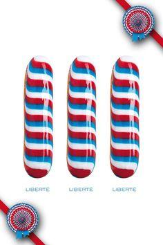 Bleu Blanc Rouge - The French éclair - Christophe Adam
