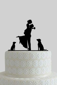 Deco wedding cake