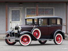 Ford model A 1930 Town Sedan