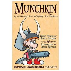 Munchkin Card Game by Steve Jackson Games, Multicolor