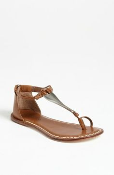 The perfect sandal to stroll the boardwalk of Venice beach or abroad in Israel.  Bernardo 'Marina' Sandal available at #Nordstrom. $118