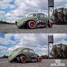 volksrod love the paint and it being fender less! Combi Wv, Vw Rat Rod, Kdf Wagen, Vw Mk1, Rat Look, Vw Vintage, Vw Bugs, Vw Beetles, Rc Cars