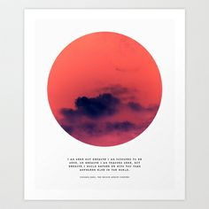 be with you +  Art Print by Cloud Story + - $18.72