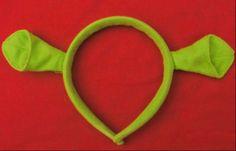 Shrek Ogre Ears Costume Headband