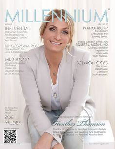 "SEPTEMBER 2013 | Number 32 Heather Thomson, cast member of ""The Real Housewives of New York City"" #millenniummagazine"