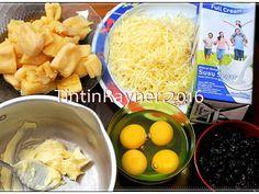Schotel Peyeum/ Tape Manis yang super yummy & legit recipe step 1 photo Resep Cake, Recipe Steps, Indonesian Food, Custard, Food And Drink, Menu, Eggs, Cheese, Snacks