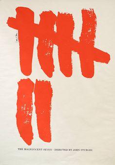 The+Magnificent+Seven+1960s+U.S.+Poster