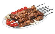 Pork Shish Kebab from Shish Kebab, Almond, Pork, Canada, Foods, Dishes, Recipes, Kale Stir Fry, Food Food