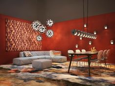 Salone del Mobile 2019 may have come to a close, but Moooi's presentation lives on through new product launches with Marcel Wanders, Kranen/Gille, Tord Boontje, Sofa Design, Bauhaus, Decor Interior Design, Interior Decorating, Furniture Design, Milan Design, New Carpet, Modular Sofa