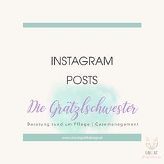 Instagram Posts, Counseling, Nursing Care