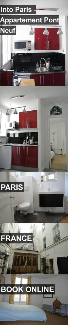 Hotel Into Paris - Appartement Pont Neuf in Paris, France. For more information, photos, reviews and best prices please follow the link. #France #Paris #travel #vacation #hotel