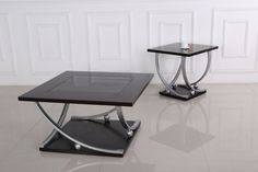Generation Trade 3 PC 717215 Chelsea Black Coffee & End Table Set Black End Tables, Coffee And End Tables, End Table Sets, Occasional Tables, Decoration Piece, Home Upgrades, Cocktail Tables, Discount Furniture, Home Decor Items