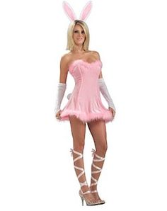 Buy this sexy pink bunny costume online now at Heaven Costumes. This super sexy pink bunny costume by Rubies will turn heads at your next animal or even Easter themed fancy dress party! In stock now for express delivery Australia wide. Costumes Sexy Halloween, Costume Sexy, Sexy Costumes For Women, Girl Costumes, Adult Costumes, Halloween Crafts, Costume Ideas, Playboy Bunny Costume, Easter Bunny Costume