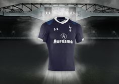 Under Armour & Tottenham Hotspur Reveal 2012-13 Home & Away Kits